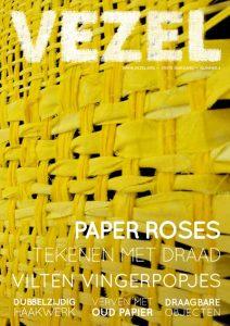 De omslag van jaargang 39 uitgave 1, de december-Vezel